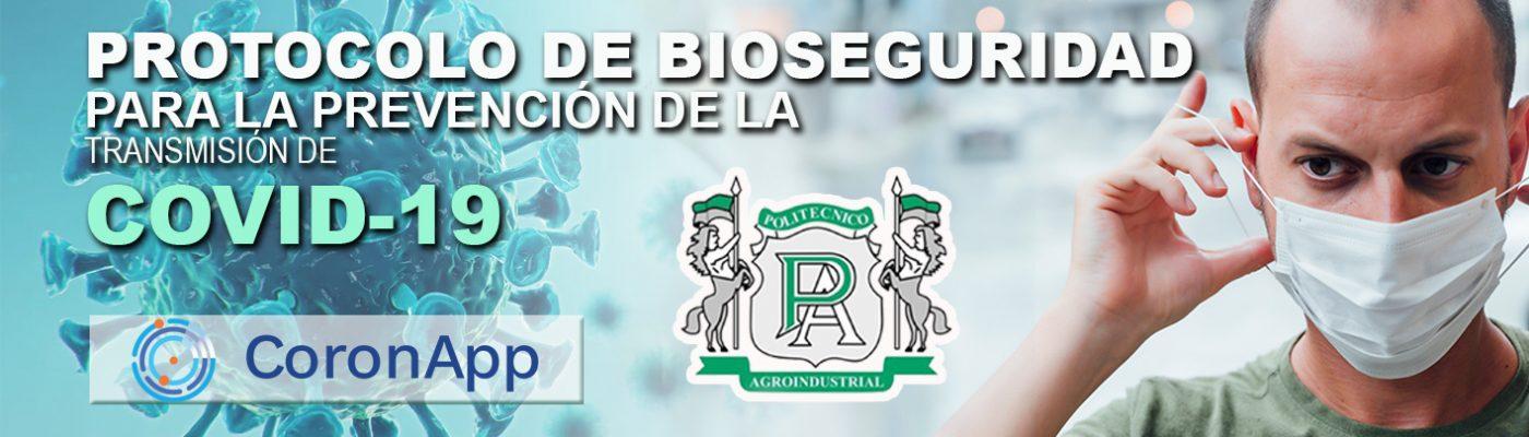 portada de protocolo de bioseguridad